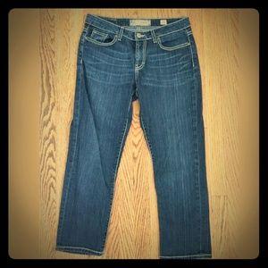 BKE traylor cropped jeans DE76